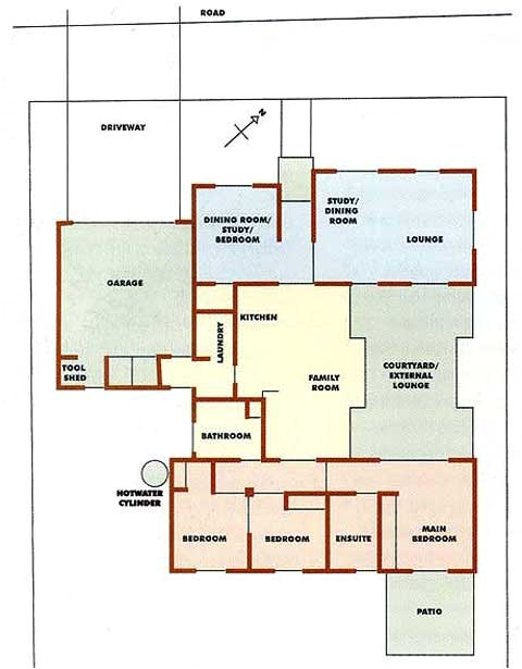 environmentally friendly house floor plans