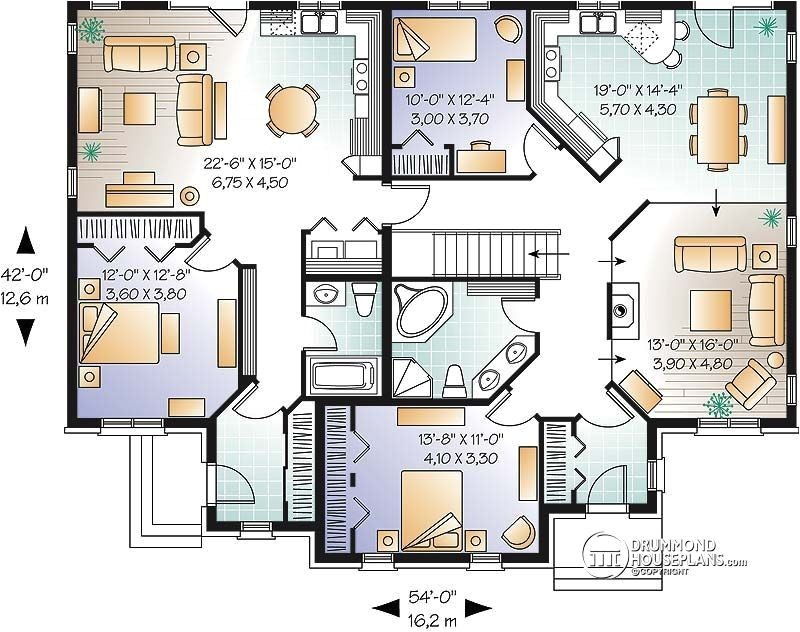multi family house plan multi family home plans house plans