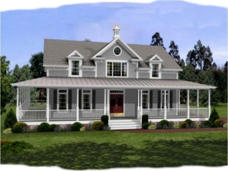 21 dream farmhouse with wrap around porch plans photo