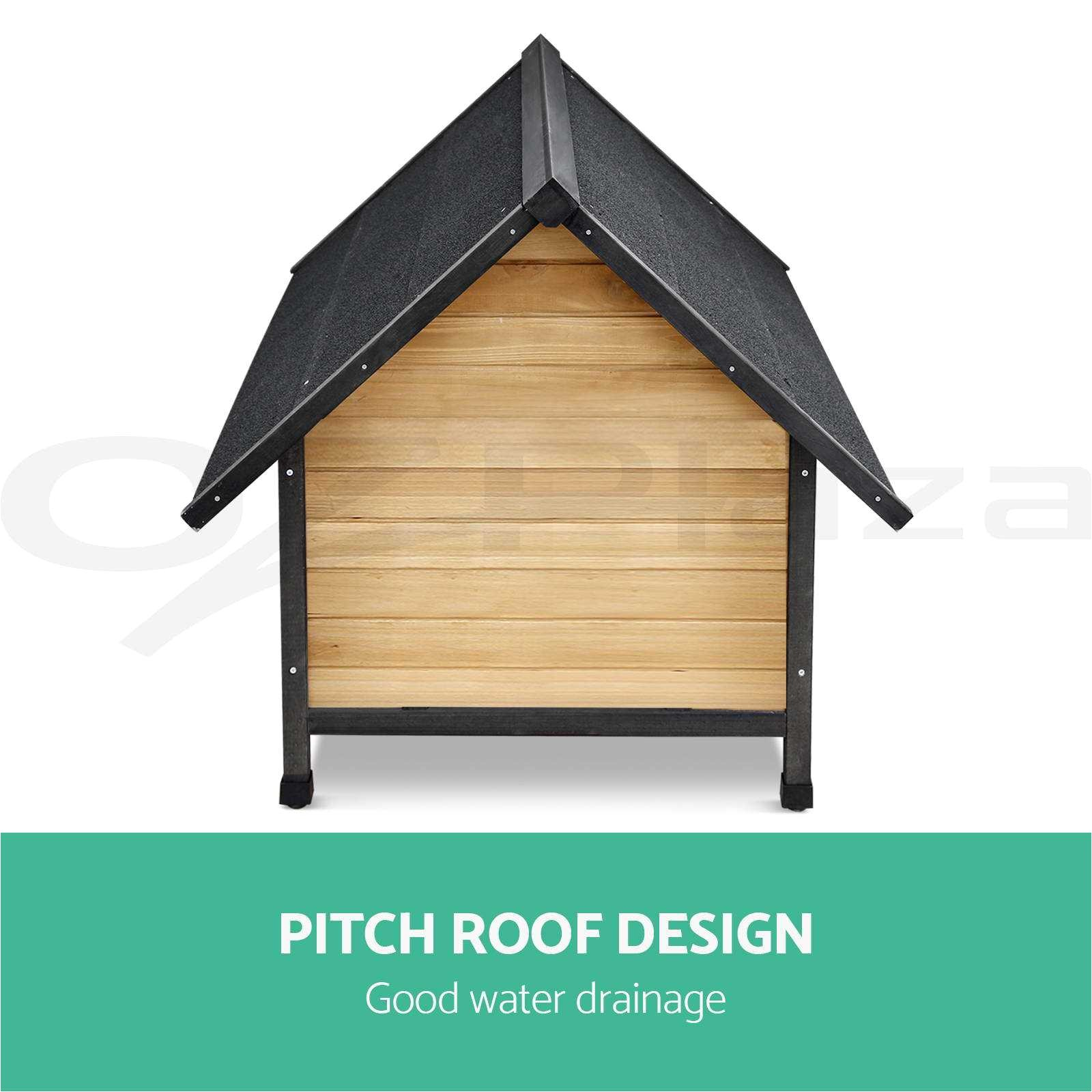 dog house plans with flat roof