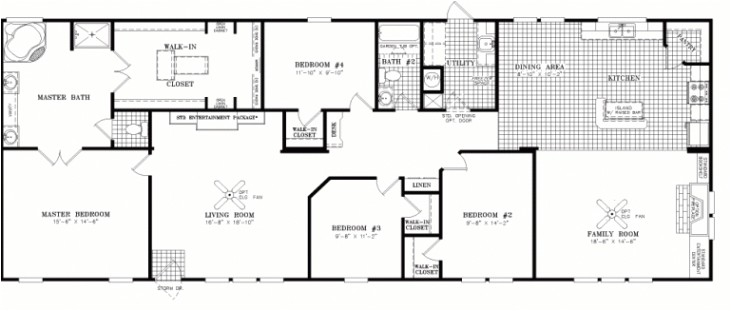 beautiful fleetwood mobile homes floor plans