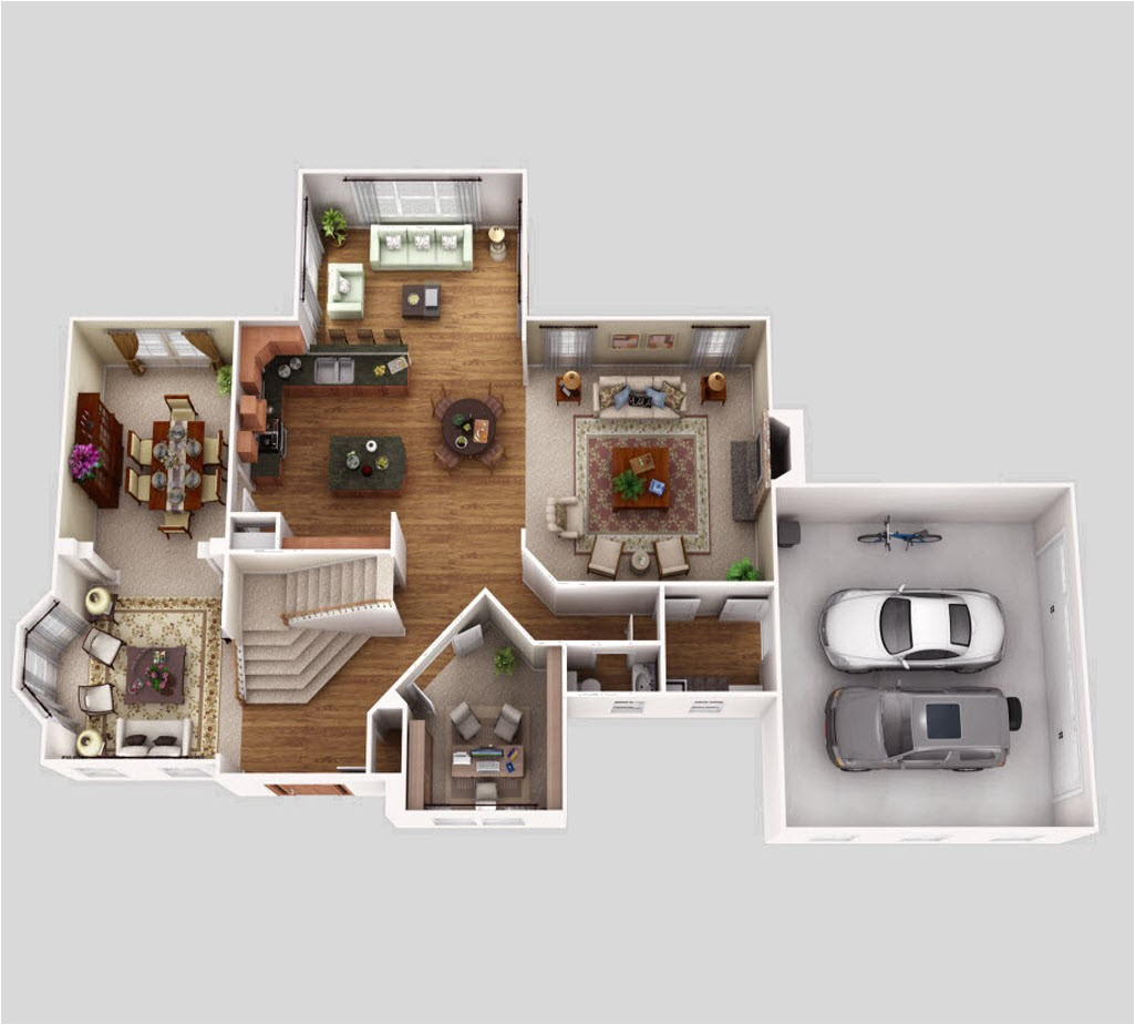 3d floor plan for house wonderful fresh on luxury rendering animation services studio