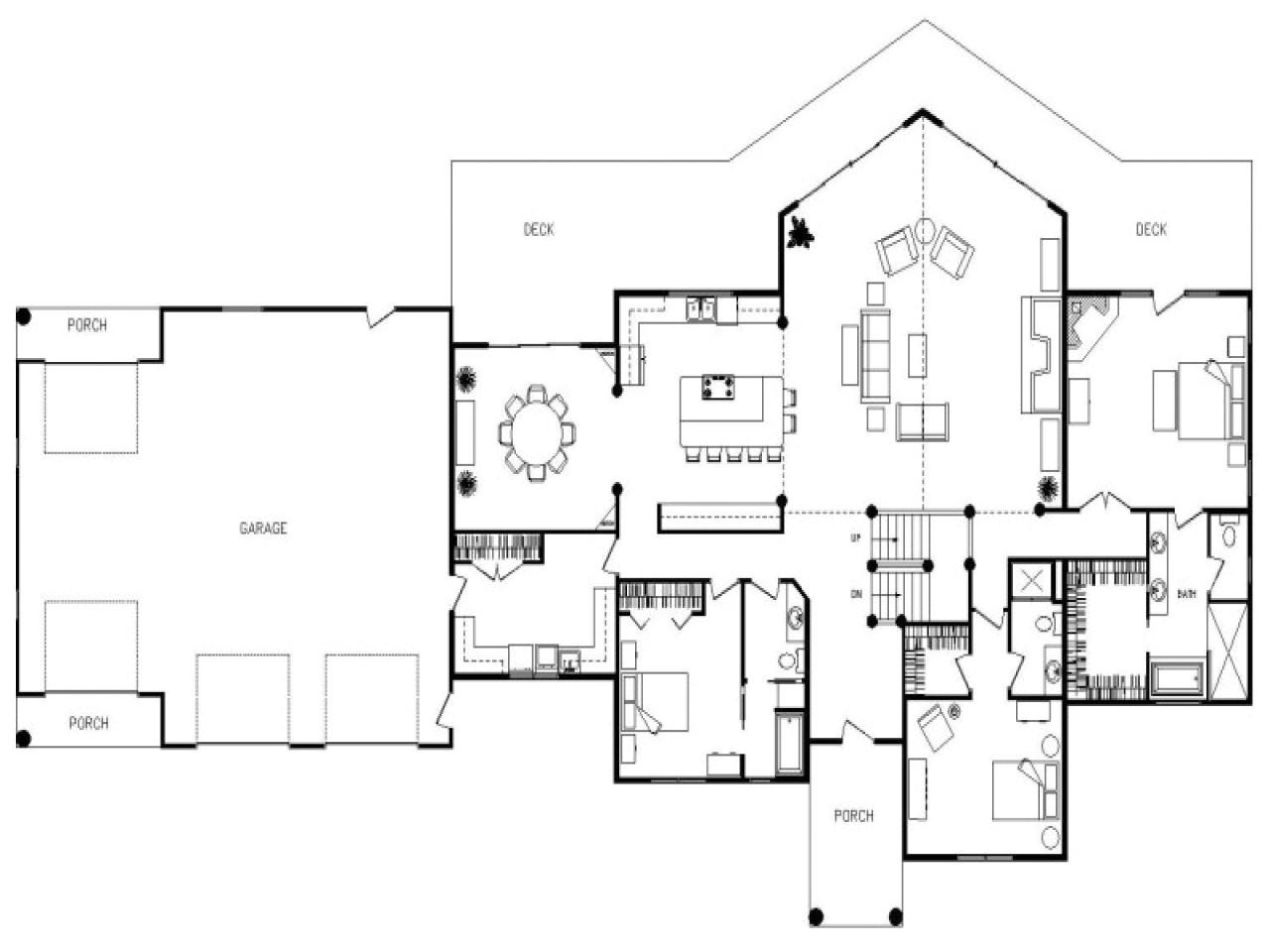 d61ab3cfb0b25424 open floor plan design ideas unique open floor plan homes