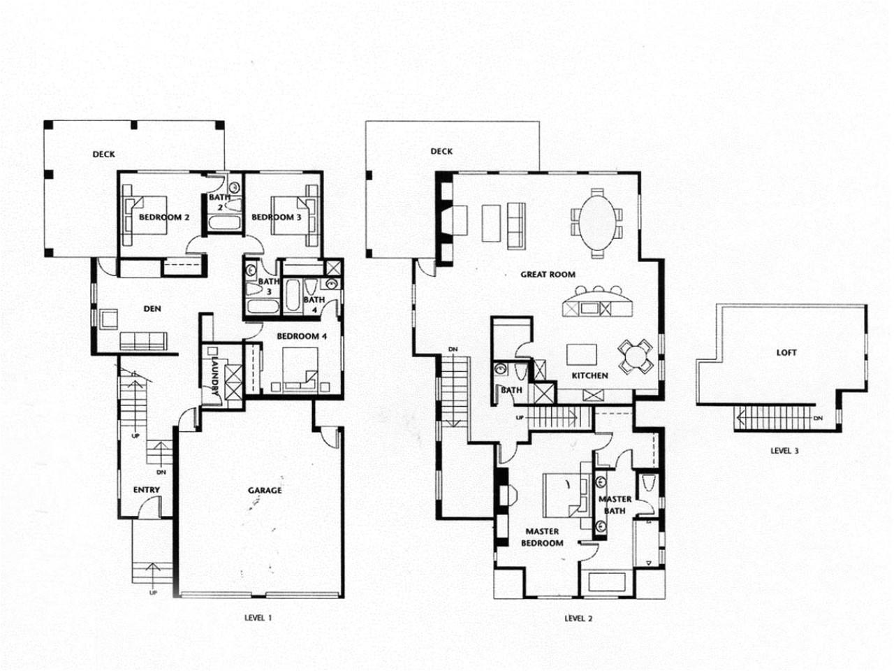 618568e7164fa5cf luxury homes floor plans 4 bedrooms luxury homes with open floor plans