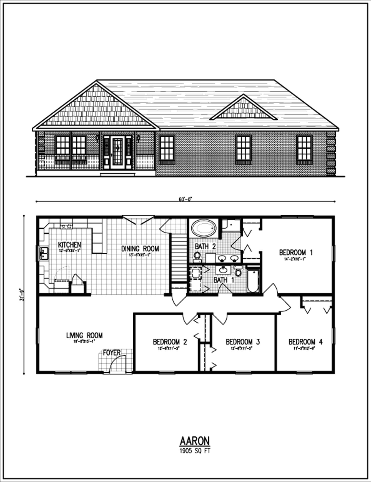 small ranch style house plans