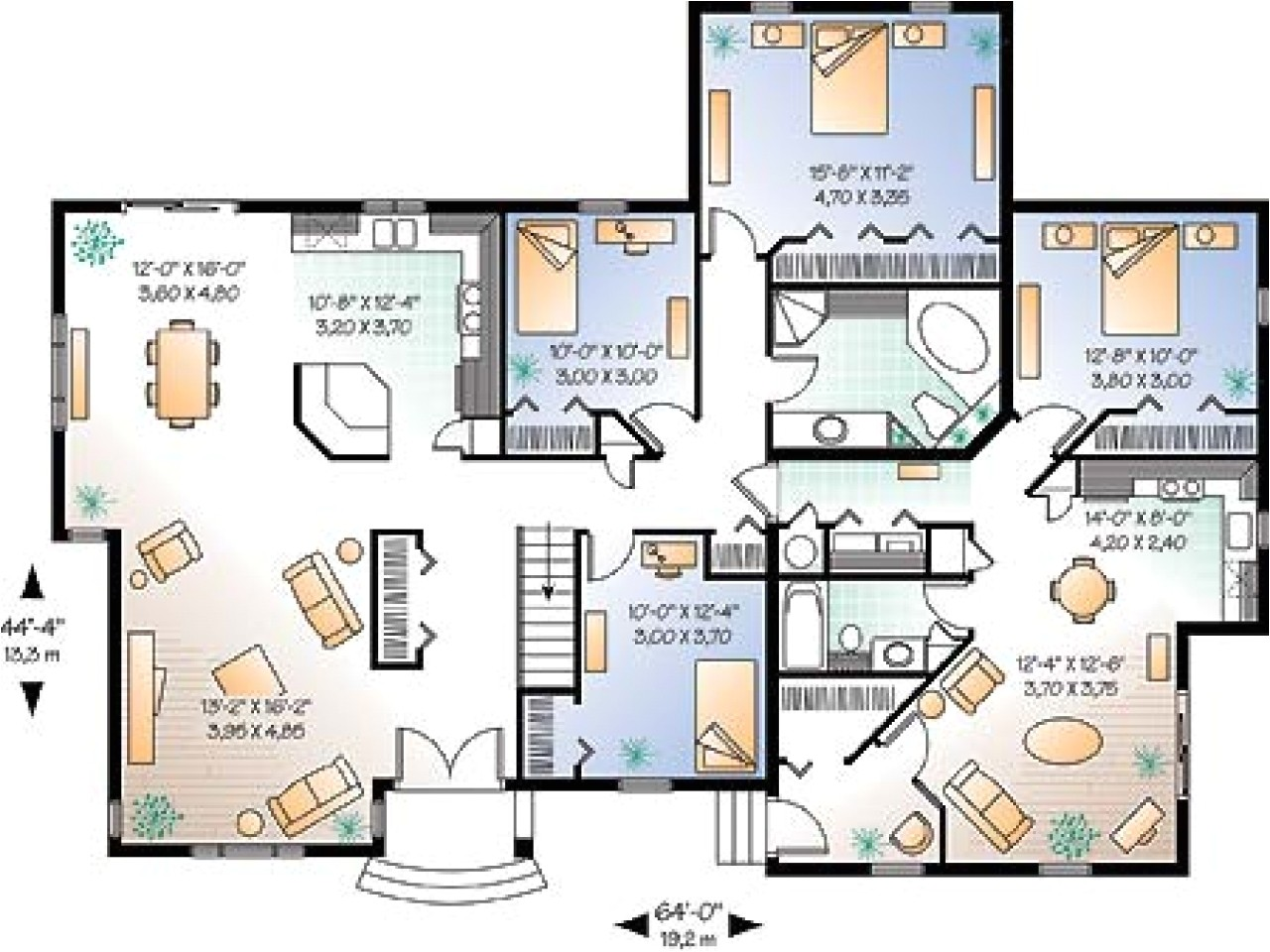 4d02bddf7d6e715a floor home house plans self sustainable house plans