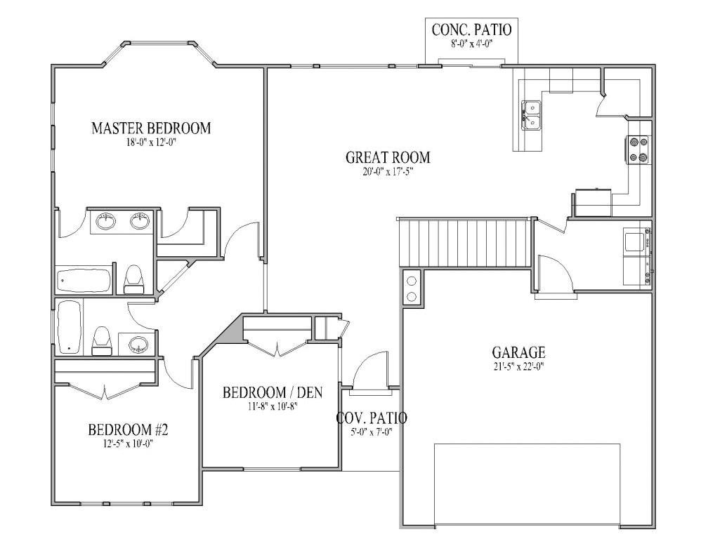 rambler house plans utah