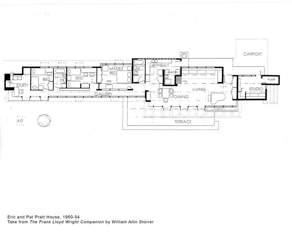 frank lloyd wright home plans