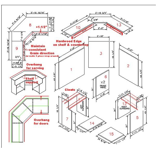 bar plan layouts