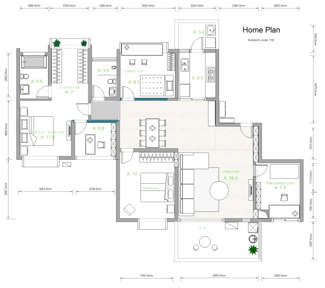 template house plan