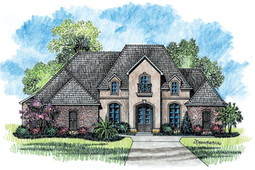 country french house plans images