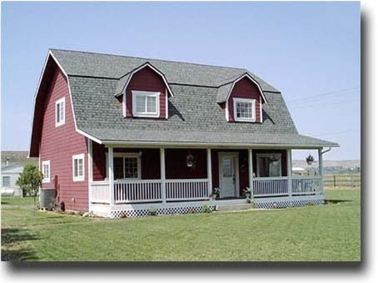 gambrel house plans