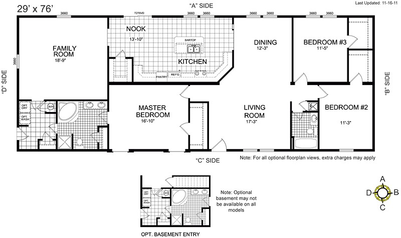 floor plans of mobile homes