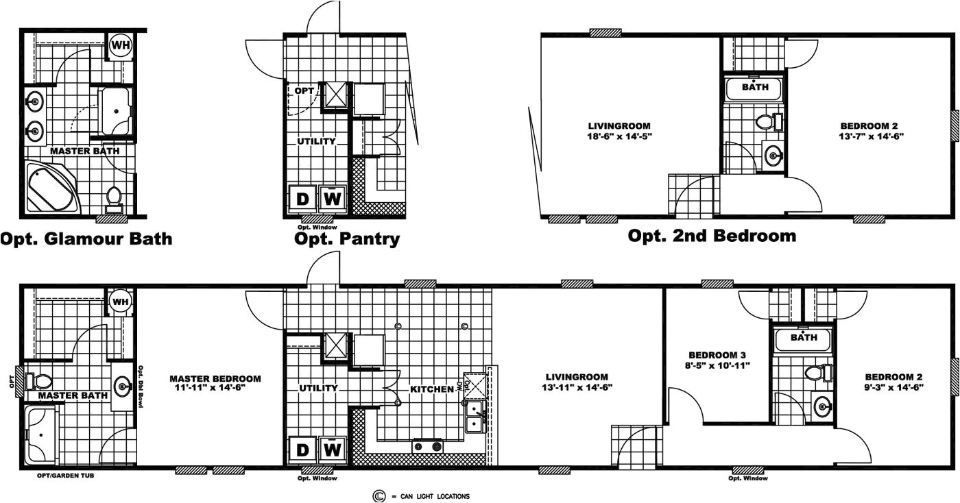 giles mobile homes floor plans