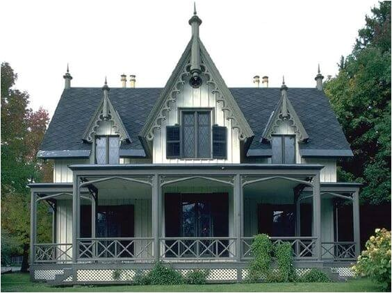 what is a gothic revival home