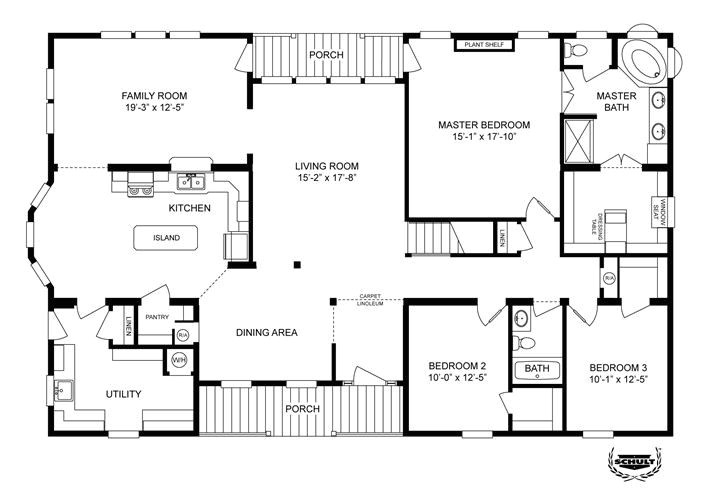 clayton modular home floor plans