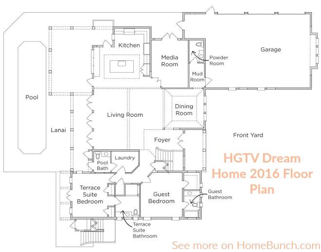 hgtv dream home 2010 floor plan dimensions