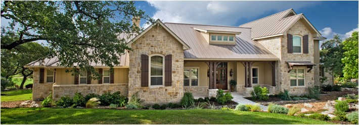 what is the hill country home design style