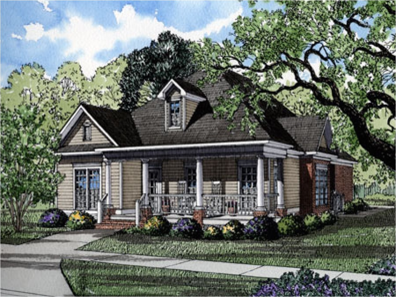 historical house plans for narrow lots