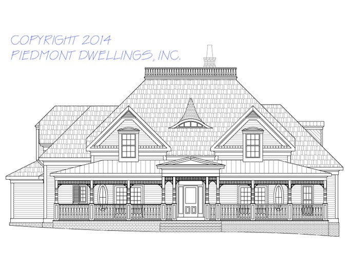 west lake historical house plans