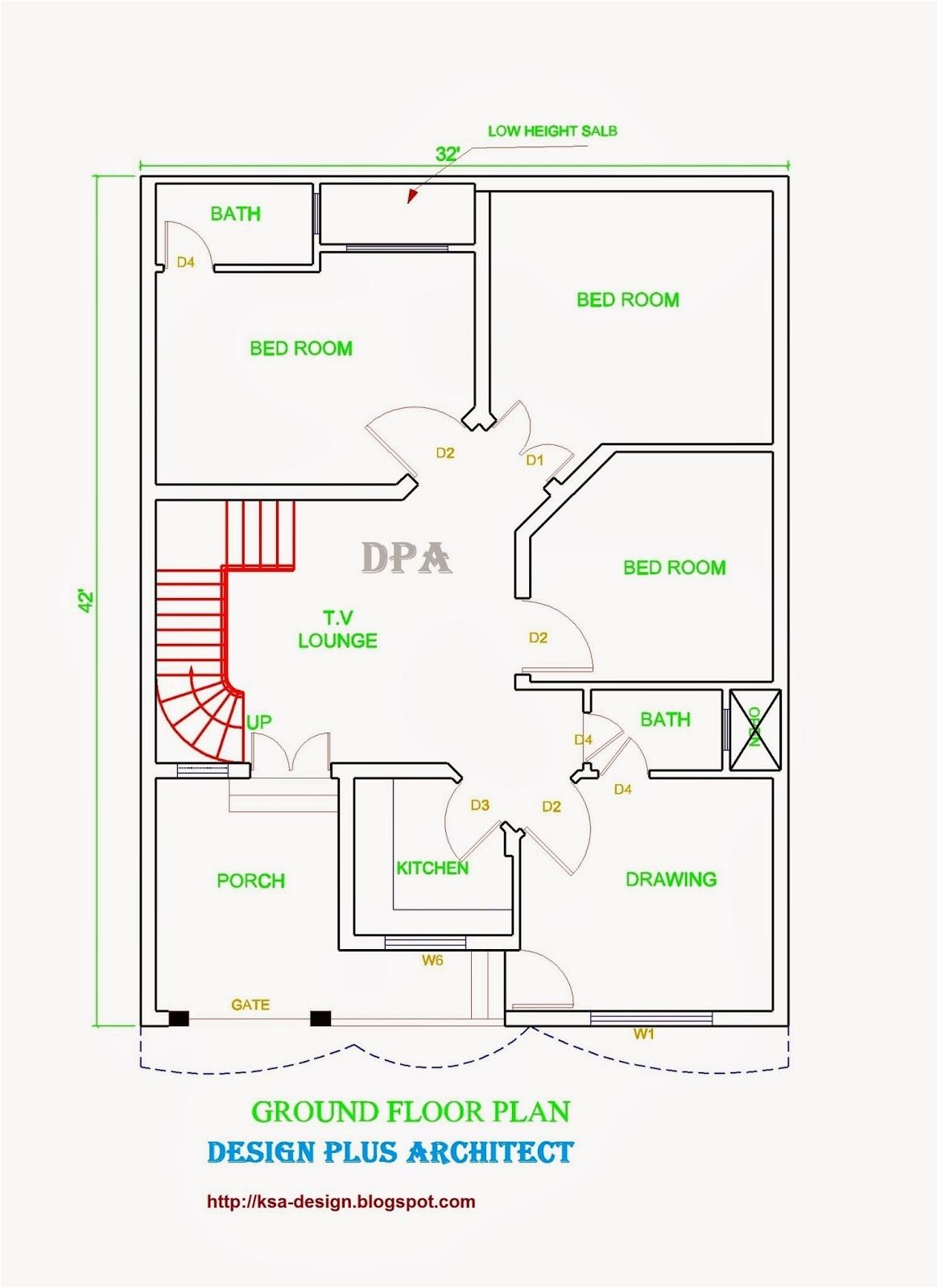 home 2d plan