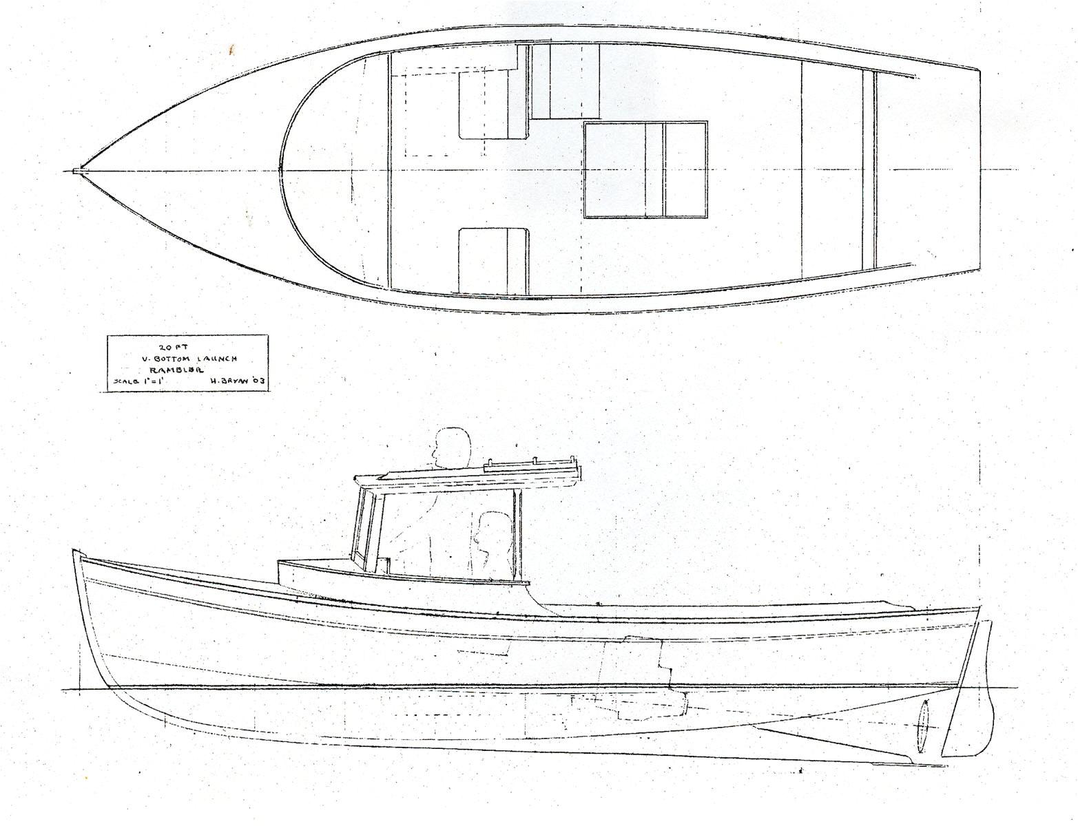 wooden boats plan ukm