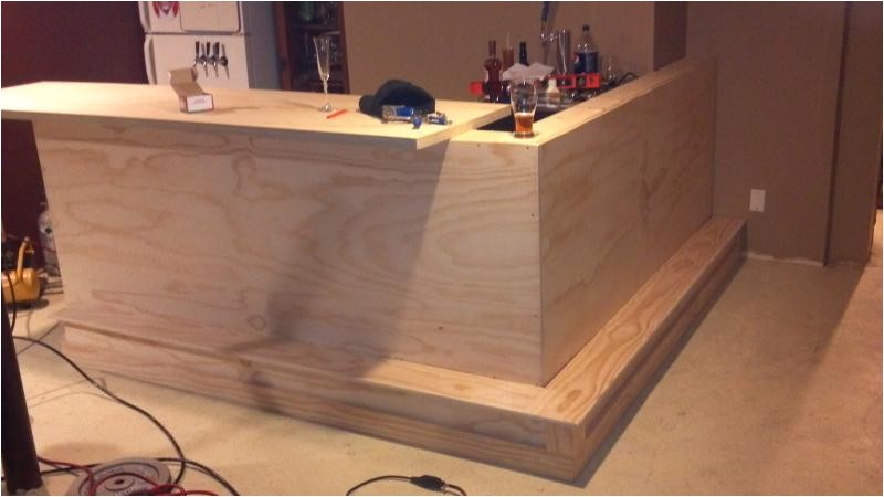 how to make a bar in basement