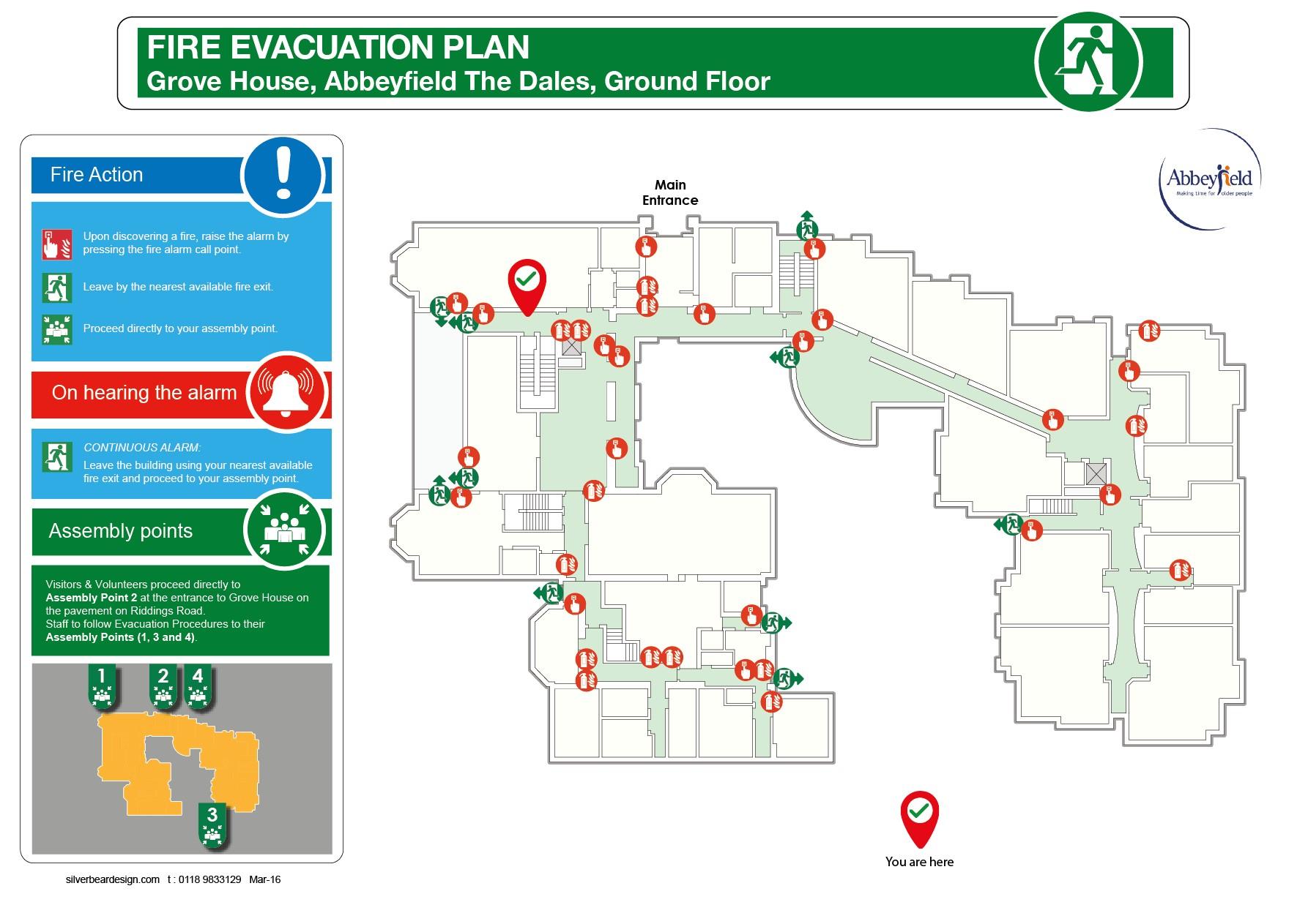 2d evacuation plans