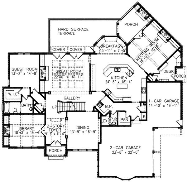 luxury with angled keeping room 15813ge