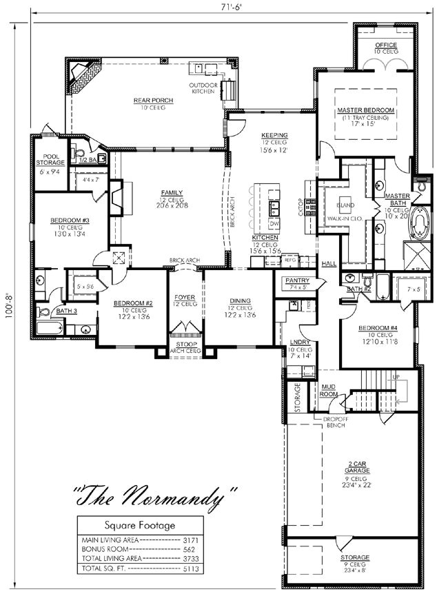 house plans with keeping rooms off kitchen