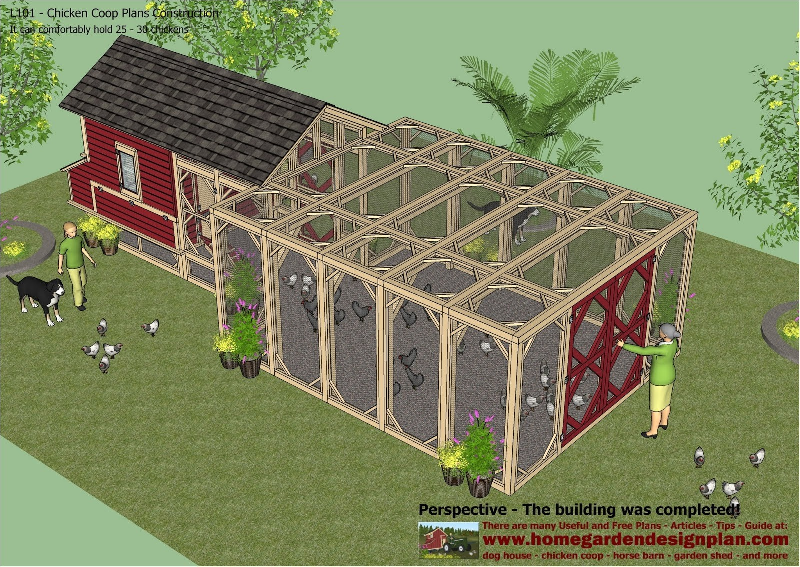 Home Garden Design Plan Hens Plans How to Build A Chicken Coop for 20