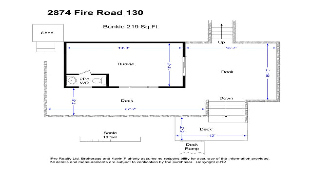 bunkie house plans