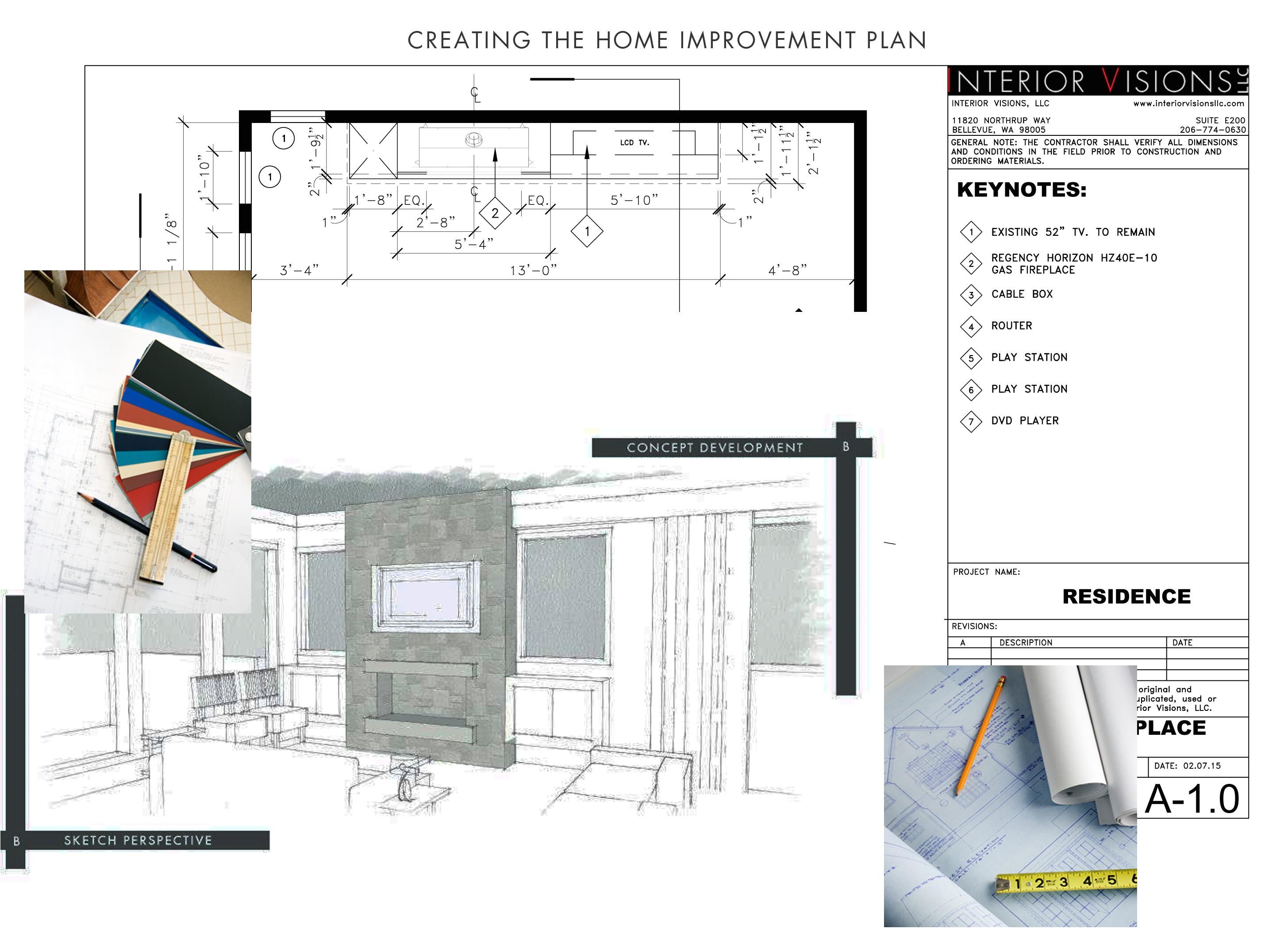 creating home improvement plan