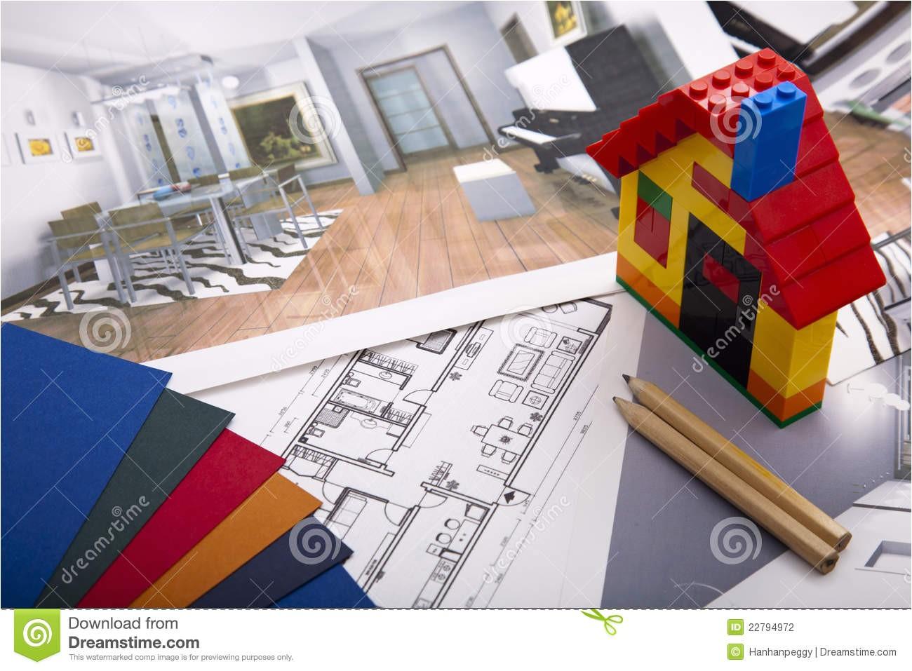 stock photography home improvement plan image22794972