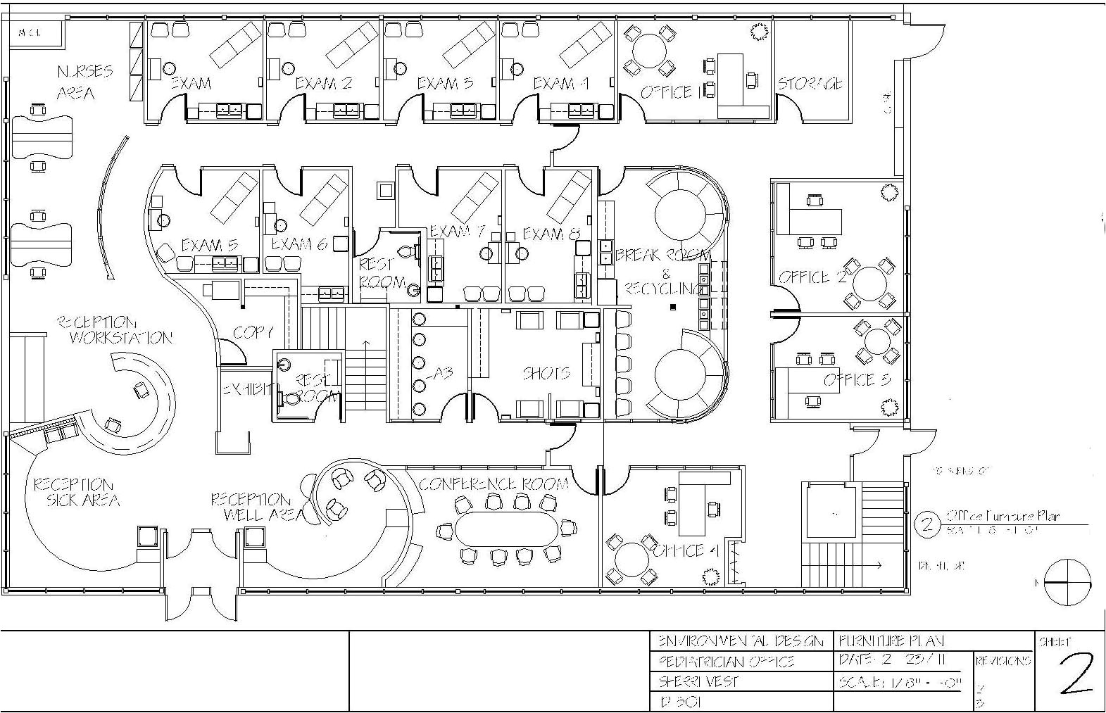 pediatric office floor plan sherri vest coroflot
