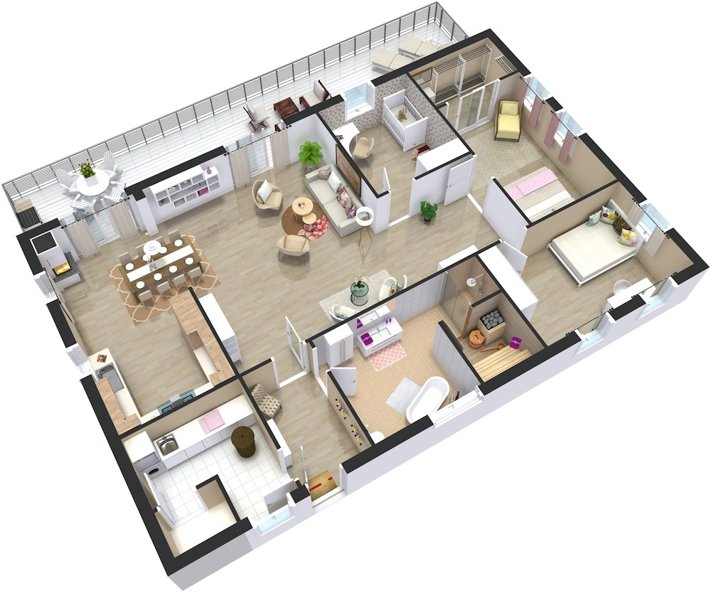 home plans 3d