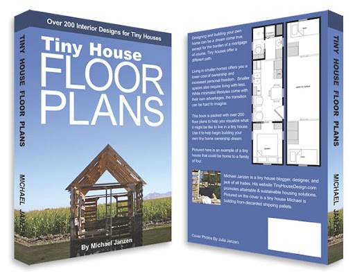 free tiny housecabin plansblueprints from michael janzen and his new book