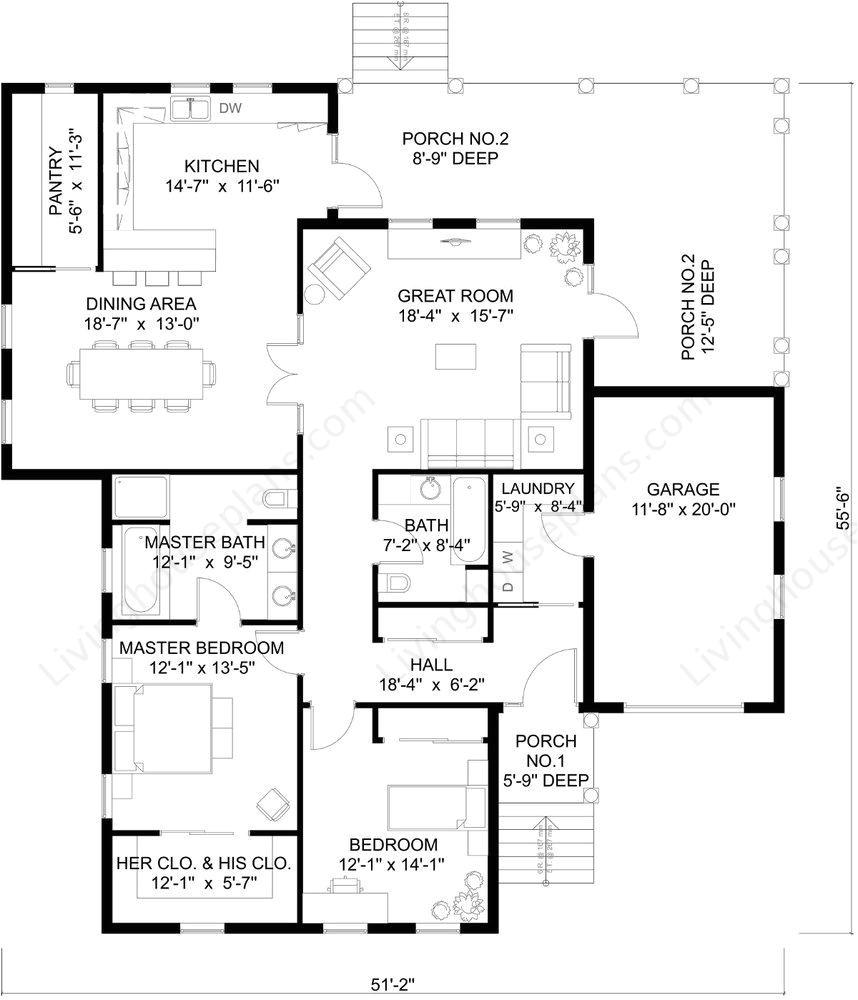 www livinghouseplans com