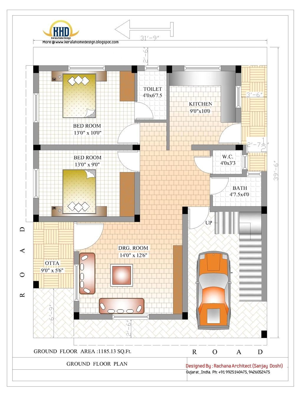 Home Plan Indian Style 2370 Sq Ft Indian Style Home Design Kerala Home Design