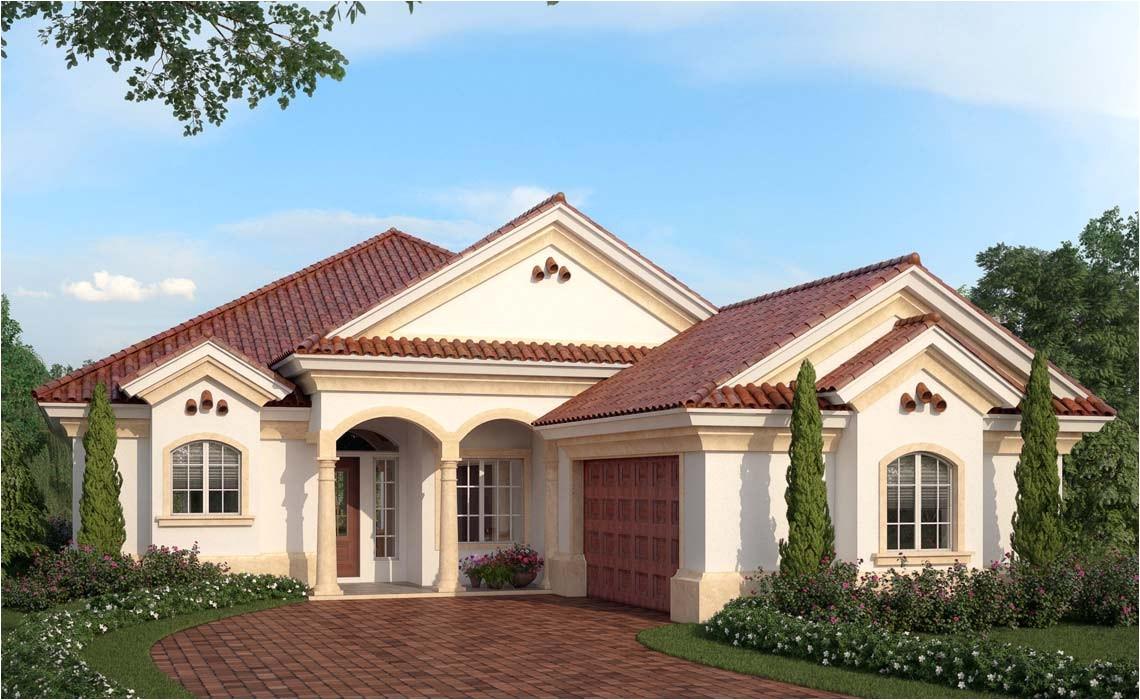 mediterranean ranch house plans