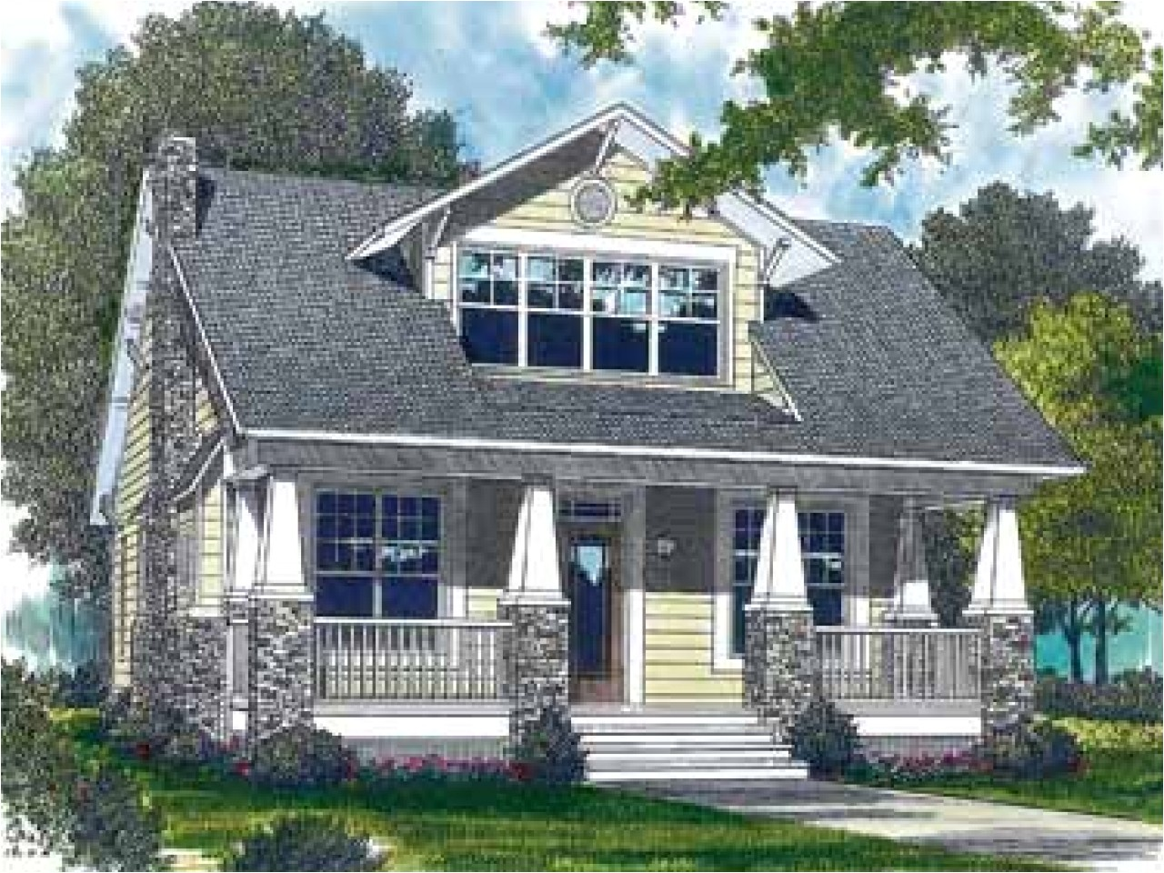 Home Plans Craftsman Style Craftsman Style Bungalow House Plans Craftsman Style Porch