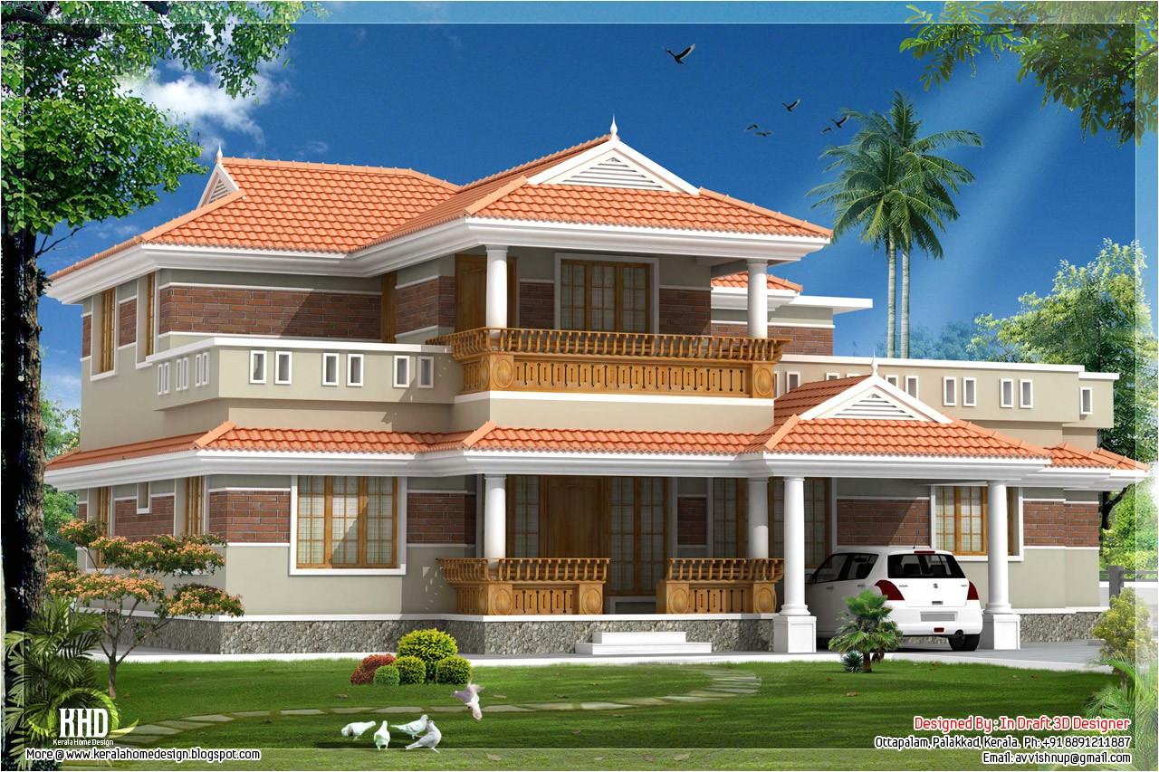 traditional looking kerala home