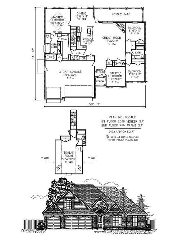 perry house plans oklahoma city ok