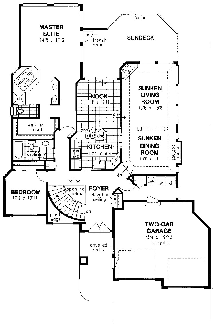 contemporary house plans under 1800 square feet