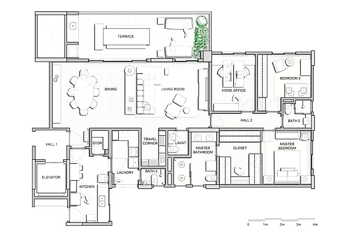 house plans with apartment attached
