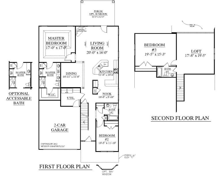 4 bedroom house plans with bonus room