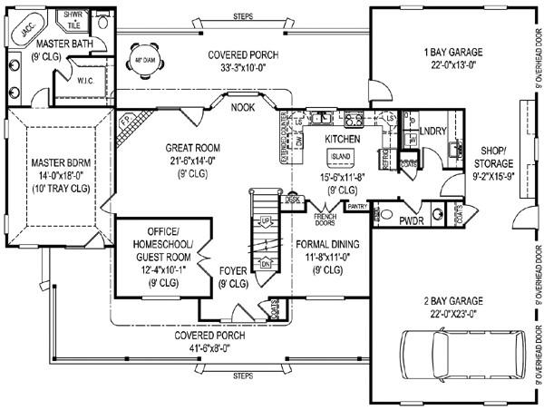 bonus room home plans