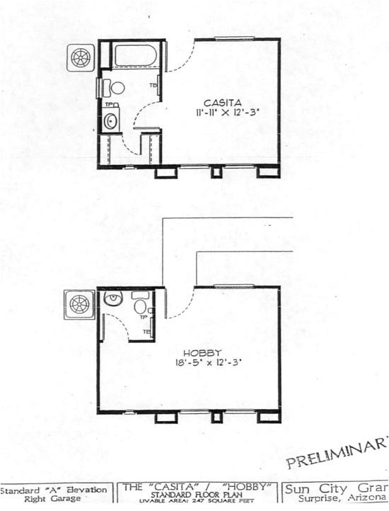 casita floor plans