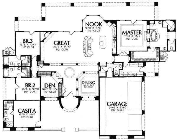 casitas house plans
