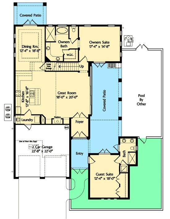 house plan 42832mj